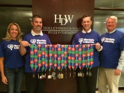 Holley Driggs Walch Corporate Sponsor for Local Chapter of Medals4Mettle